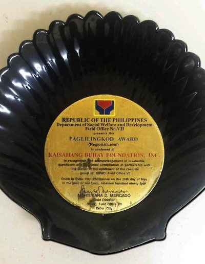 May 25, 1994 - Paglilingkod-Award-(Regional-Level)