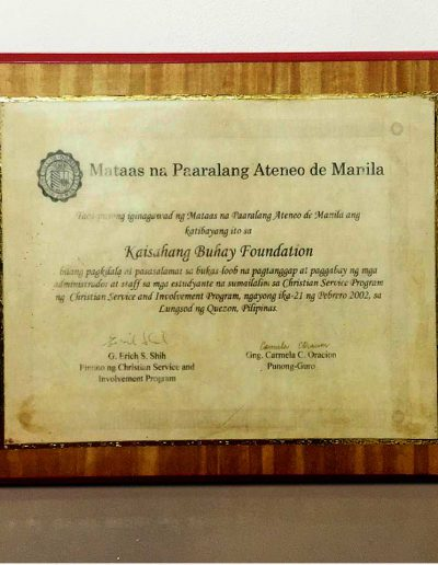February 21, 2002 - Certificate-of-Recognition-in-Christian-Service-and-Involvement-Program