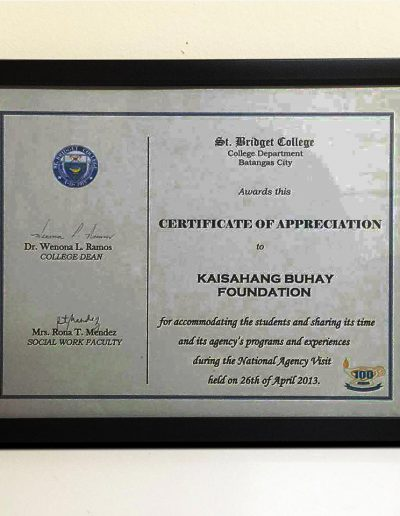 April 26, 2013 - Certificate-of-Appreciation-during-the-National-Agency-Visit