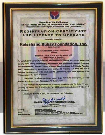 April 5, 2016 - Registration-Certificate-and-License-to-Operate
