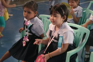 Day Care Children during Moving Up Ceremony