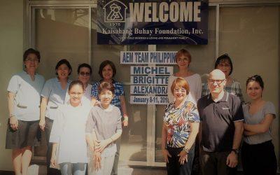 Les Amis Des Enfants Du Monde (AEM) Visits KBF