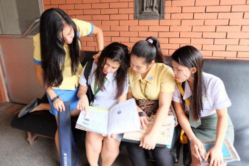 ILEA scholars during one of their bonding activities