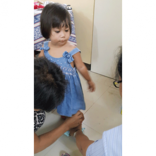 Regular check-up of a foster child
