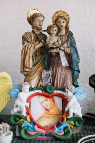 Statuette of the Holy Family