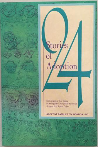 Published Book on 24 Stories of Adoption